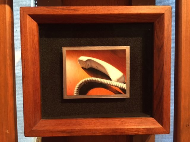 Steven Leahy (Stoughton, MA), 19 Seconds, acrylic on titanium
